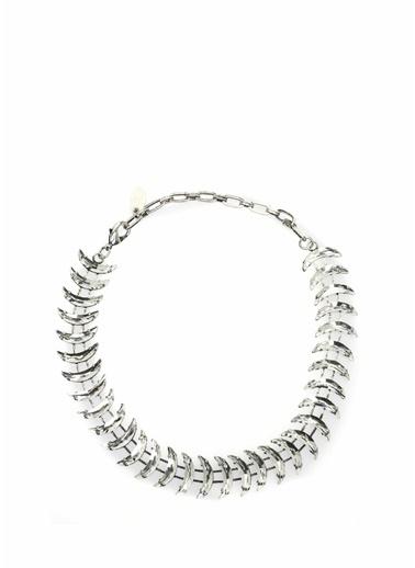 Rada Rada Ay Formlu Taşlı Kadın Kolye 101544290 Gümüş